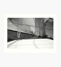 Over the Bow Art Print