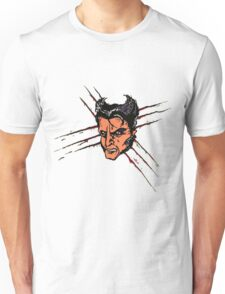 Logan, Wolverine, Wolf, Superhero Unisex T-Shirt