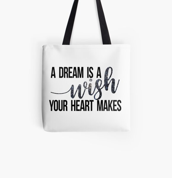 A Starry Dream All Over Print Tote Bag