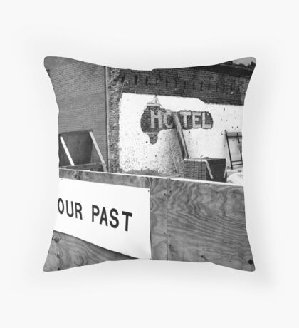 Save Our History Throw Pillow