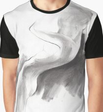 emergent 1a - Charcoal & Compressed Charcoal on paper Graphic T-Shirt