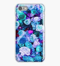 Blue and Purple Roses iPhone Case/Skin