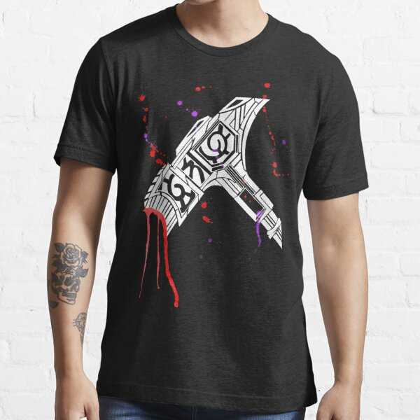 Watercolor Warhammer [White Ink] Essential T-Shirt
