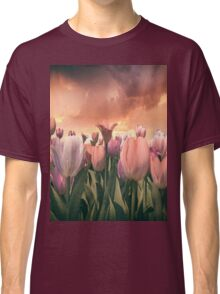 Pastel Tulips In Spring Time 2 Classic T-Shirt