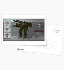 Dynamic Systems Manufacturing Concept Print Postcards