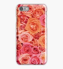 Pink and Orange Roses iPhone Case/Skin