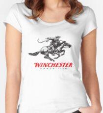 Winchester Firearms Ammunition Women's Fitted Scoop T-Shirt