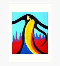 Spirit Who Walks The Earth Art Print