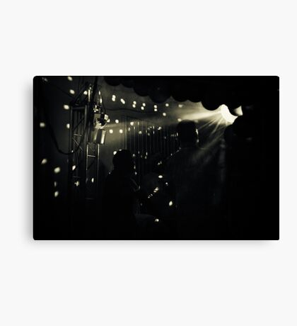 Back to the 80s Canvas Print