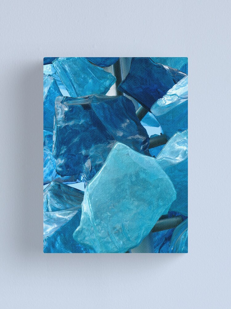 Alternate view of Blue Glass #1 Canvas Print