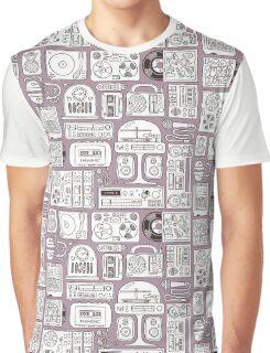 Hi-Finest! Retro Vintage Audio Gear Graphic T-Shirt