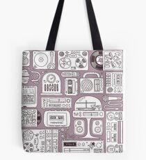 Hi-Finest! Retro Vintage Audio Gear Tote Bag