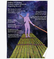 Pieces of Eight- Night Sky Poster