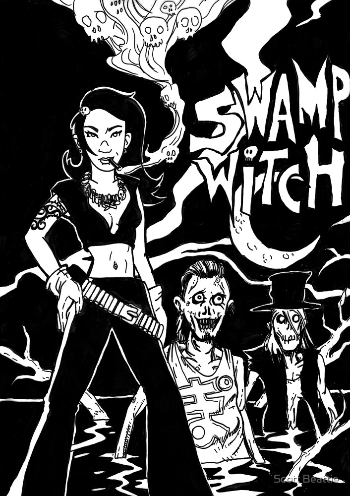 Swamp Witch by Scott Beattie