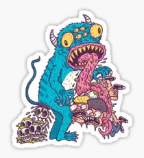 Killer Alien Sticker