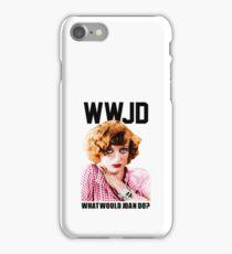 joan crawford iPhone Case/Skin