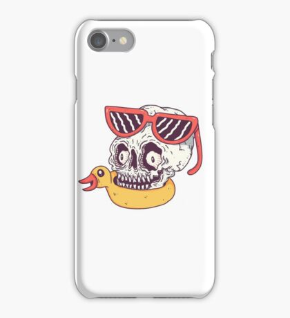Beach Skull iPhone Case/Skin