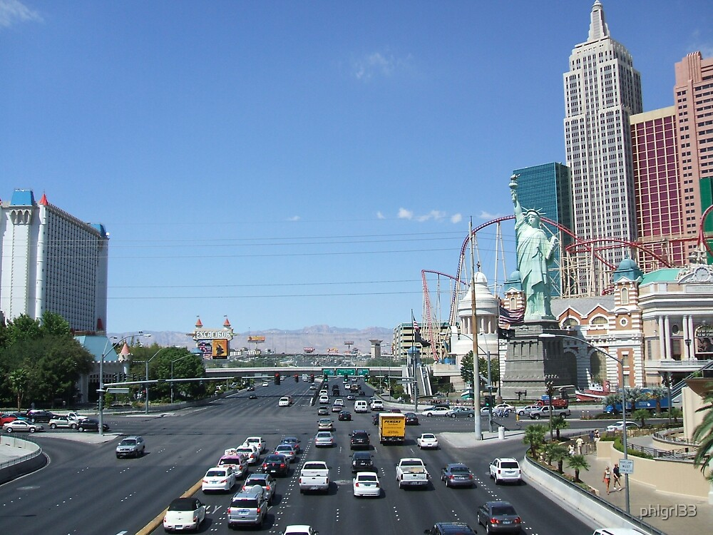 The Strip during the day by phlgrl33