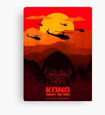 kong skull island Canvas Print