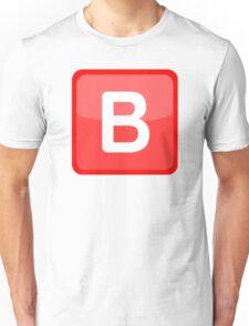 B Emoji Unisex T-Shirt
