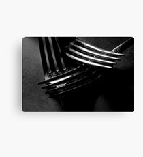 Forks Canvas Print