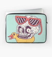 Beach Skull Laptop Sleeve