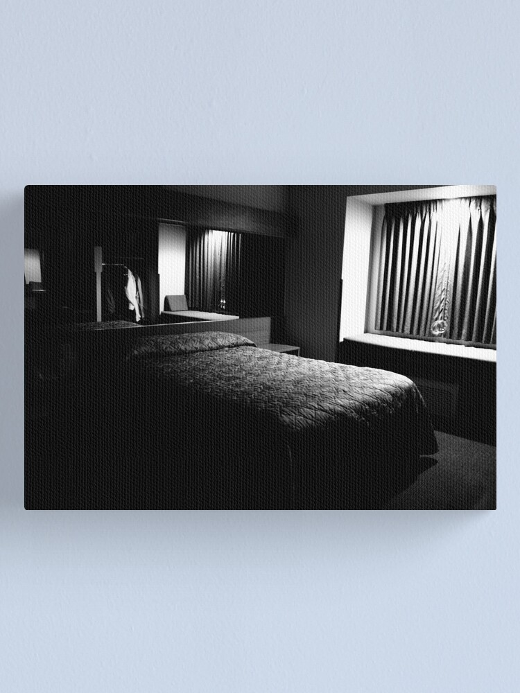 Alternate view of Empty Space on an Empty Bed Canvas Print