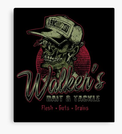 Walker's Bait N' Tackle Canvas Print