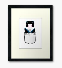 Mind Hacker Framed Print