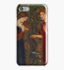 Edward Burne-Jones - The Annunciation iPhone Case/Skin