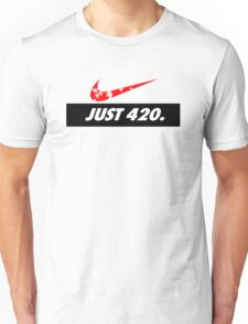 Swoosh 420 rastaman Unisex T-Shirt