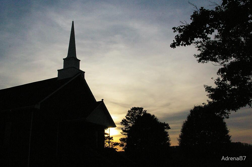 Church Silhouette by Adrena87