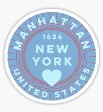 Manhattan New York  Sticker