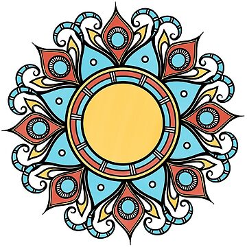 mandala sunshine by keyweegirlie