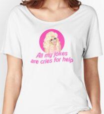 Trixie Mattel Jokes - Rupaul's Drag Race Women's Relaxed Fit T-Shirt
