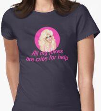 Trixie Mattel Jokes - Rupaul's Drag Race Womens Fitted T-Shirt