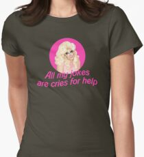 Trixie Mattel Jokes - Rupaul's Drag Race Womens Fitted T-Shirt