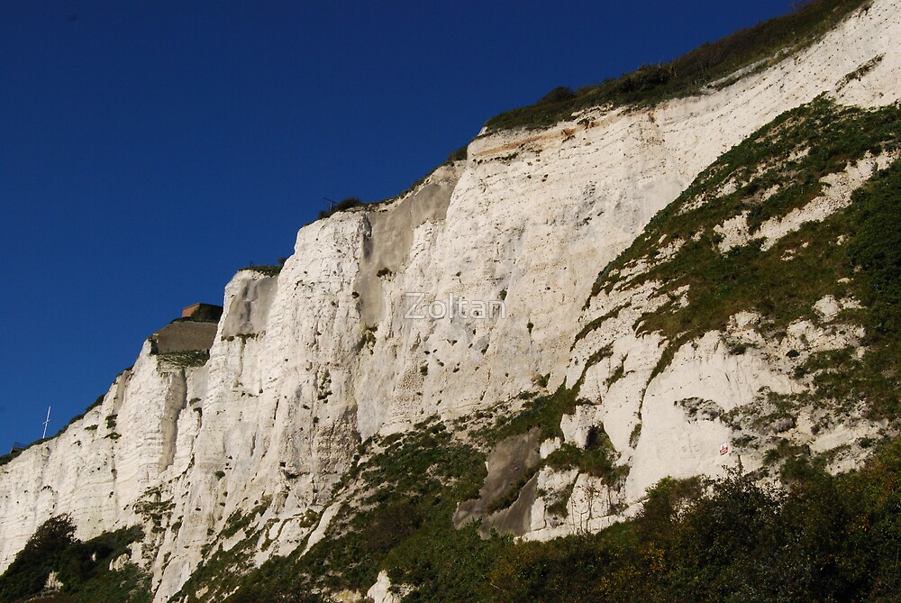 White Cliffs of Dover - England by Zoltan