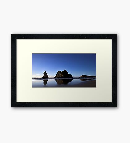 Archway Islands Reflection Framed Print
