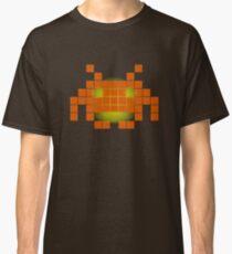 Orange Invader Classic T-Shirt
