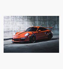 Porsche 911 GT3RS Photographic Print