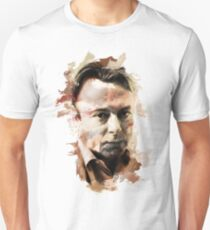 "Paint Stroked Portrait of Christopher ""Hitch"" Hitchens Unisex T-Shirt"