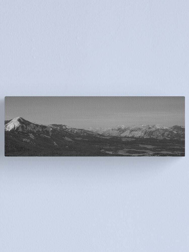Alternate view of A Downhill Slide Canvas Print