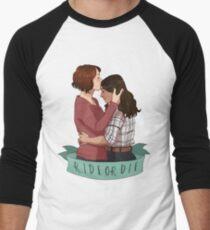 ride or die Men's Baseball ¾ T-Shirt