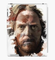 Paint-Stroked Portrait of Musician and Comedian, Tim Minchin iPad Case/Skin