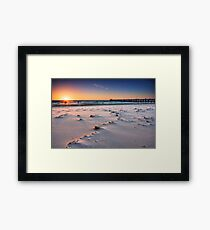 Grange Beach Framed Print