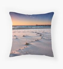 Grange Beach Throw Pillow