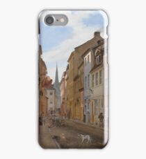 Eduard Gaertner - Parochialstrasse In Berlin iPhone Case/Skin