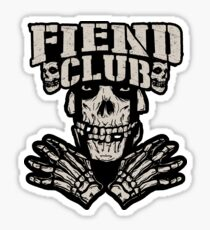 bullet fiend club Sticker