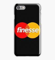 finesse iPhone Case/Skin